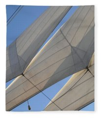 Three Sails Fleece Blanket