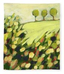 Impressionism Fleece Blankets