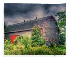 Three Wheels Barn #458 Fleece Blanket