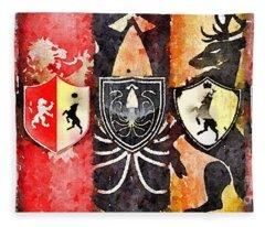 Thrones Fleece Blanket