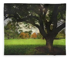 Throw Your Arms Around The World Fleece Blanket
