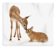 Thumper And Bambi Fleece Blanket