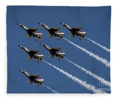 Thunderbird Formation Fleece Blanket