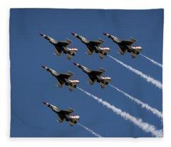 Thunderbird Formation Fleece Blanket