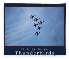 Thunderbirds Fleece Blanket