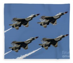 Thunderbirds Dsc5807 Fleece Blanket