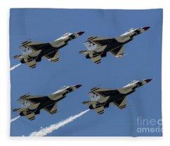 Thunderbirds Dsc5807 Fleece Blanket