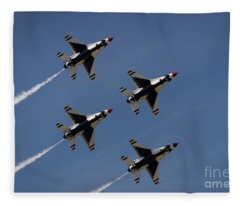 Thunderbirds Dsc5846 Fleece Blanket