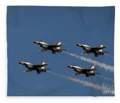Thunderbirds Dsc6413 Fleece Blanket
