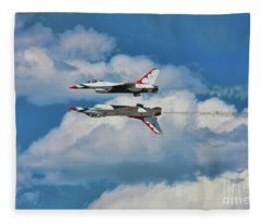 Thunderbirds Inverted Fleece Blanket