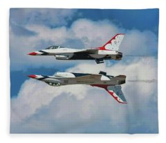 Thunderbirds Inverted Fleece Blanket