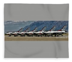 Thunderbirds Ready Fleece Blanket