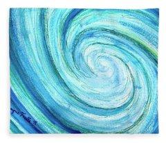 Tidal Fleece Blanket
