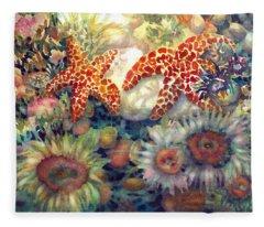 Tidal Pool II Fleece Blanket