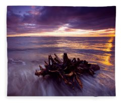 Tide Driven Fleece Blanket