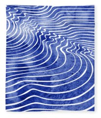 Tide Ix Fleece Blanket