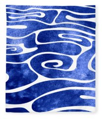 Tide Vii Fleece Blanket