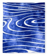 Tide Viii Fleece Blanket