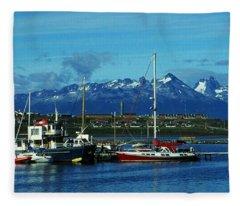 Tierra Del Fuego Fleece Blanket