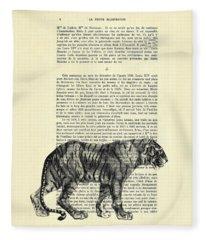 Danger Fleece Blankets