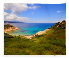 Tilt Shift Fleece Blanket