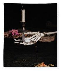 Time And Tide Fleece Blanket