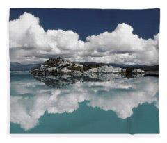 Time For Reflection Fleece Blanket