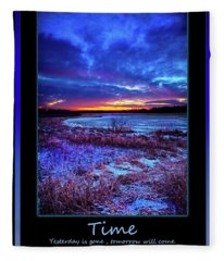 Time Fleece Blanket