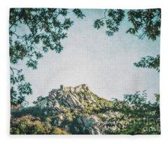 Time Temple Fleece Blanket