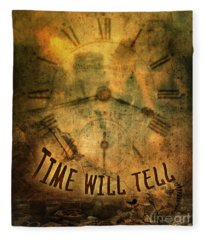 Time Will Tell Fleece Blanket