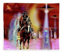 Stonehenge   Timewarp Fleece Blanket