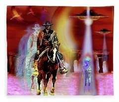 Stonehenge   Timewarp Fleece Blanket