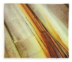 Tin Roof Abstract Fleece Blanket