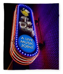 Tin Roof Beale Street Fleece Blanket