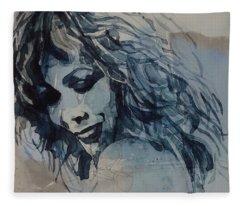 Tina Turner  Fleece Blanket