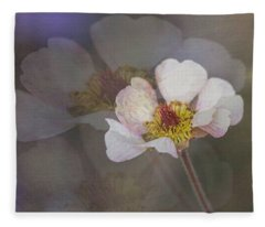 Tiny Blossom Fleece Blanket