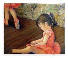 Tiny Dancer Fleece Blanket