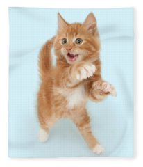 Tiny Tiger Fleece Blanket
