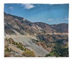 Tioga Pass II Fleece Blanket