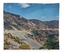 Tioga Pass II Fleece Blanket