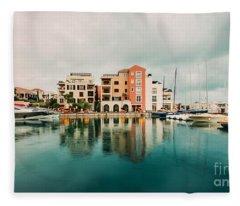 Tivat, Montenegro Fleece Blanket