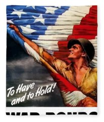 To Have And To Hold - War Bonds Fleece Blanket