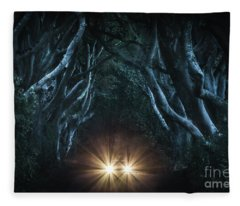 To The End Of The Night Fleece Blanket