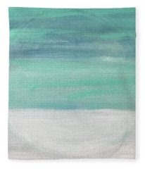 To The Moon Fleece Blanket
