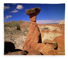 Toadstool Caprocks Utah Fleece Blanket