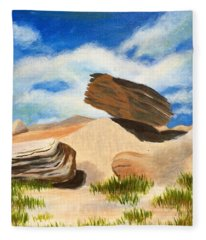 Toadstool Park Nebraska Fleece Blanket