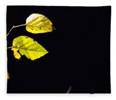 Together In Darkness Fleece Blanket