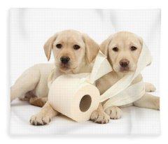 Toilet Humour Fleece Blanket