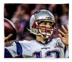 Tom Brady - Touchdown Fleece Blanket