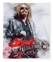 Tom Petty - 21 Fleece Blanket